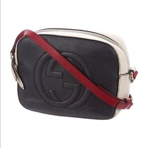 Gucci Soho Disco Tri Color Crossbody Bag